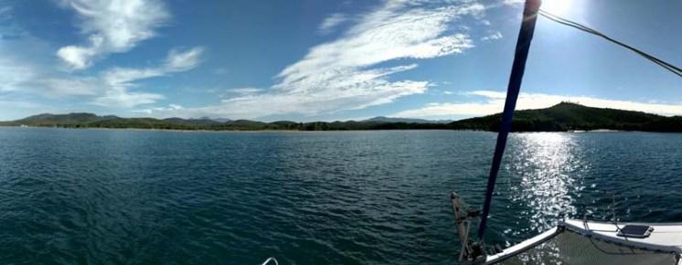 South end of Bahía de Chamela - looking for surf