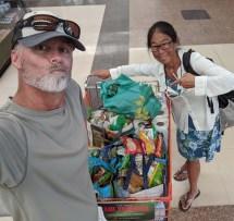 Big provisioning run in Manzanillo