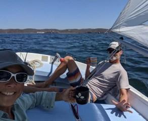 Sailing CD around Tenacatita