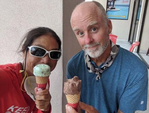 Ice cream day in Barra