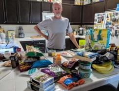 Snacks galore for our 2019 U.S. roadtrip
