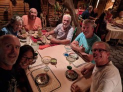 Dinner in Loreto with S/V MoonDrifter and WCM crew, November 2018