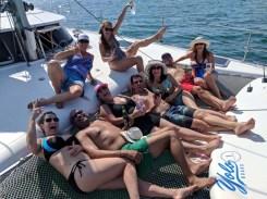 MJ's birthday sail aboard FL in Bahía de Banderas, November 2019