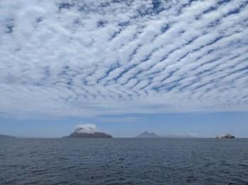 Cloud-capped Isla Danzante