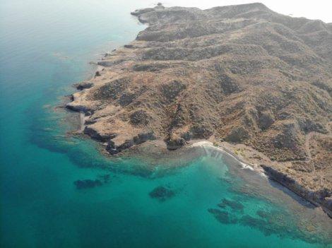 North end of Isla Monserrat