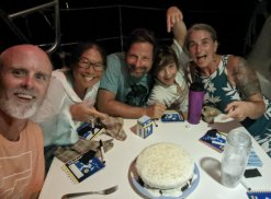 Homemade birthday cake ala Tara