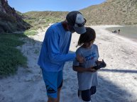 Rand giving Everest pointers on drone captaining