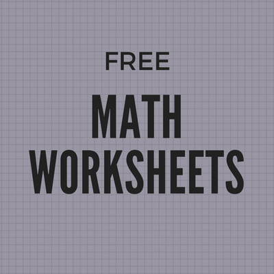 Over 5,000 Free Math Worksheets