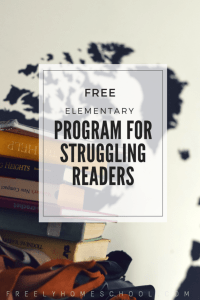 A Free Program for Struggling Readers