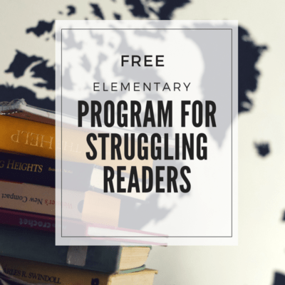 Free Reading Program for Struggling (or Beginning) Readers