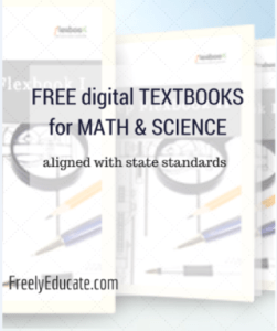 Free Digital Textbooks for Math and Science