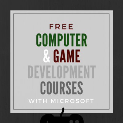 Free Computer & Gaming Coding Courses from Microsoft