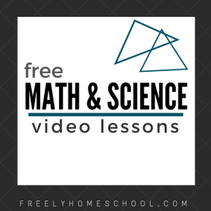 free math and science video lessons for elementary-middle school grades