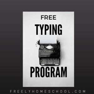 Free Typing Program