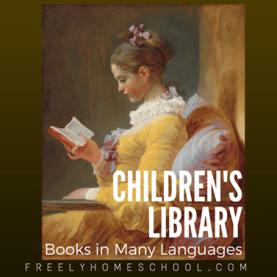 Online Children's Library with books in many languages