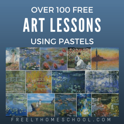 Over 100 Free Art Lessons Using Pastels