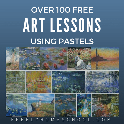 Over 100 Free Art Lessons Using Pastels | Freely Homeschool
