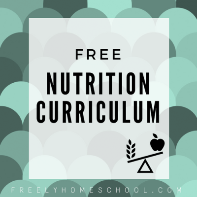 Free Health & Nutrition Lessons for Kids