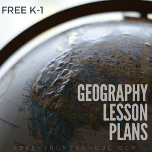 Free K-1 Geography Lesson Plans