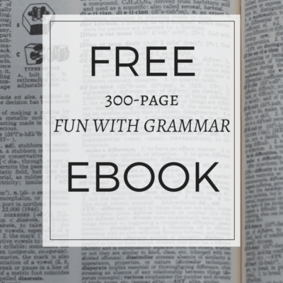 Free 300-page eBook of Grammar Lesson Plans, Activities & Games