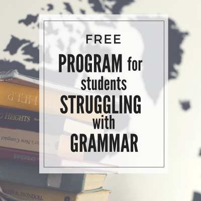 Free Grammar Curriculum (7th & up)