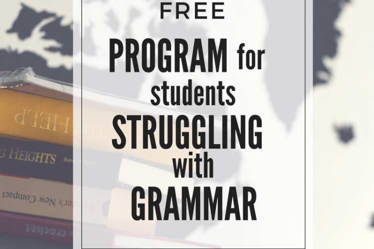Free Program for Students Struggling with Grammar