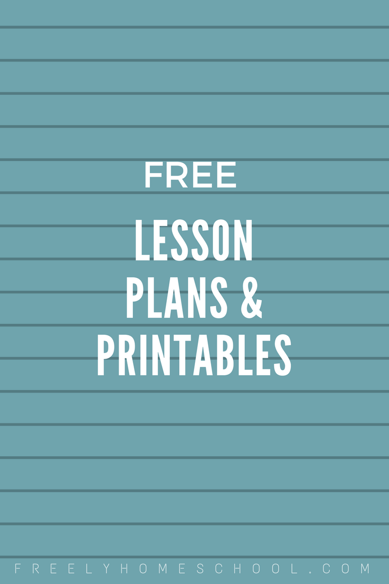 printables Archives | Freely Homeschool