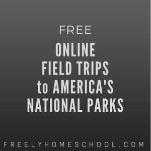 online field trips to national parks