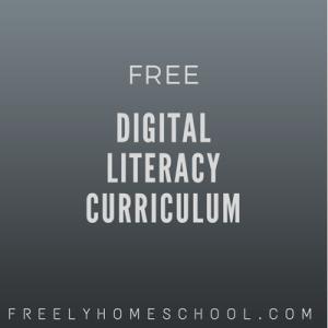 free digital literacy curriculum
