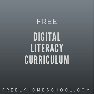 Free Digital Literacy & Citizenship Curriculum for K-12