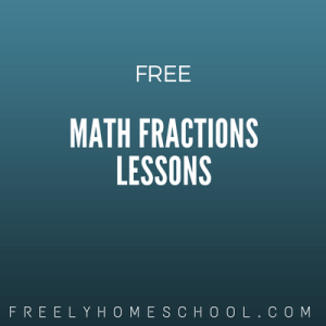 free math fractions lessons