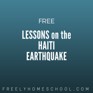 free lessons on the Haiti earthquake