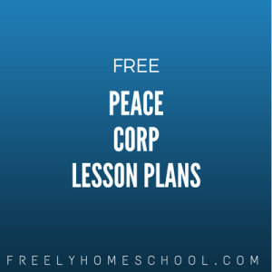 free Peace Corp lesson plans