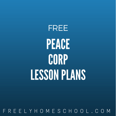 Free Peace Corp Learning & Lesson Plans