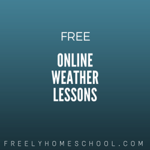 free online weather lessons