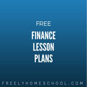 free finance lesson plans
