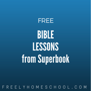 free Superbook Bible lessons