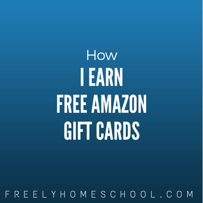 How I Earn Free Amazon Gift Cards: (& Our Exclusive Code for New Signups!)