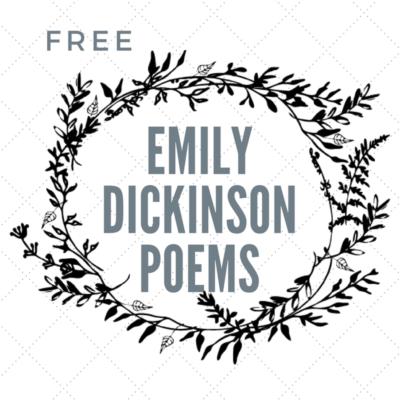 Free Emily Dickinson Poems