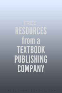 free textbook resources