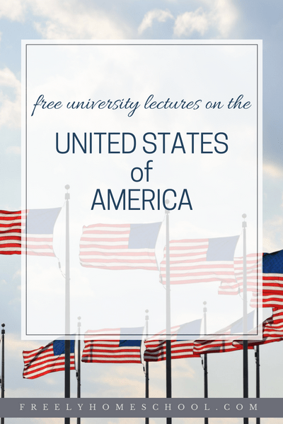 Free College History Courses on the US