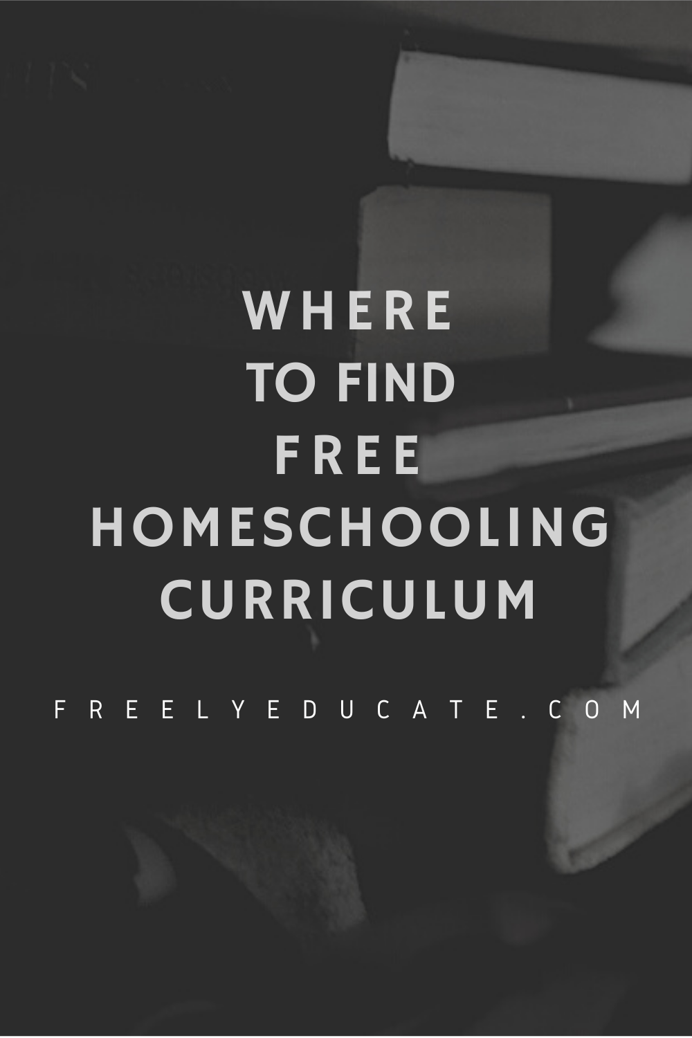 Where to Find Free Homeschool Curriculum