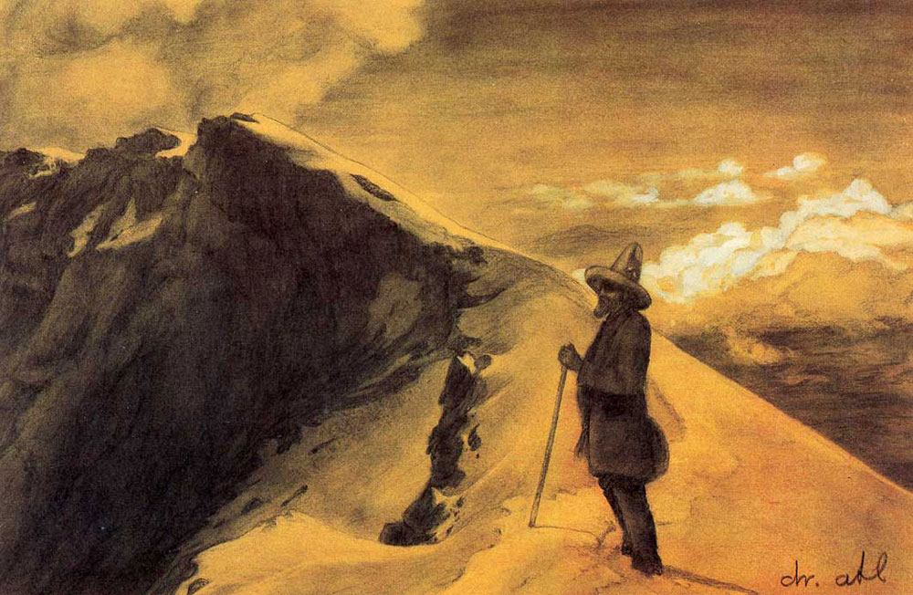 La obra de Dr. Atl y cinco enseñanzas para los montañistas