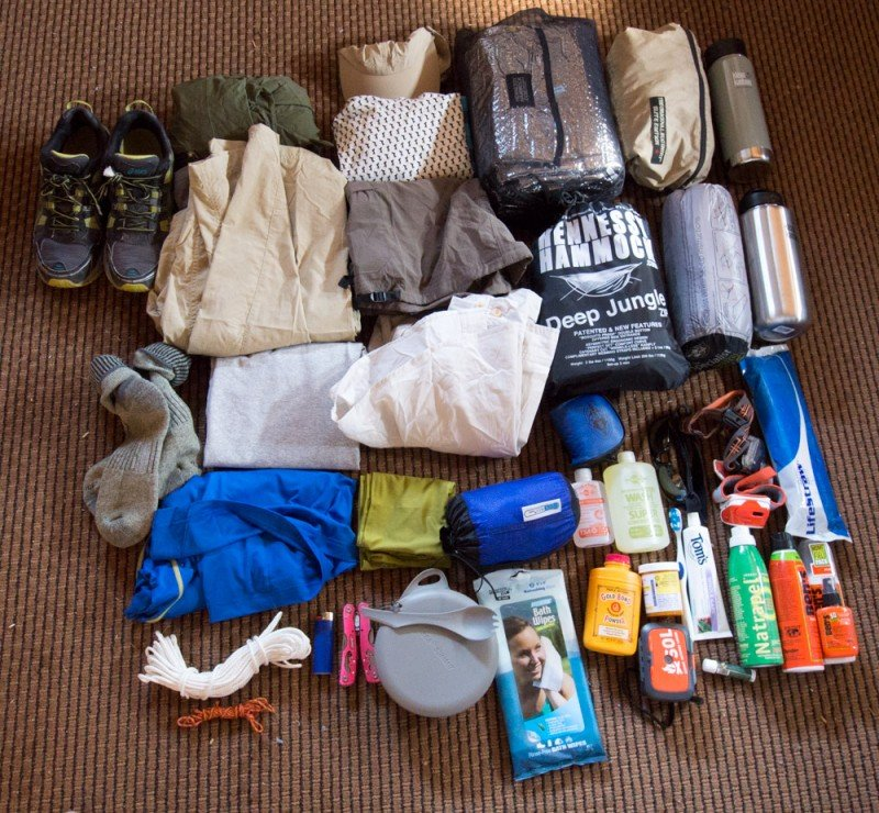 Dave Freeman's expedition gear