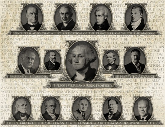 freemason presidents, masonic presidents
