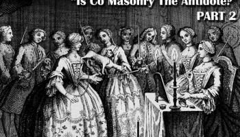 co masonry, mixed masonry, women, secret societies