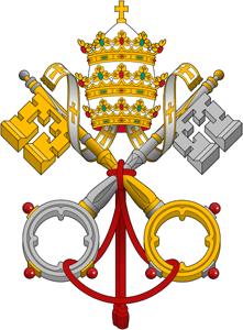 pope, papal logo, catholic church