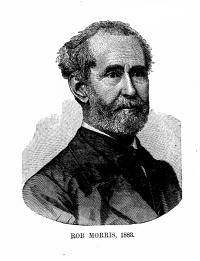 Masonic author, and liar, Rob Morris