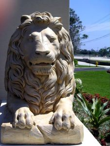 lion of the tribe of judah, Jesus, lion statue