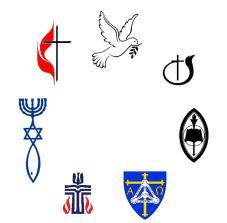 christian emblems, denominations, religious symbols